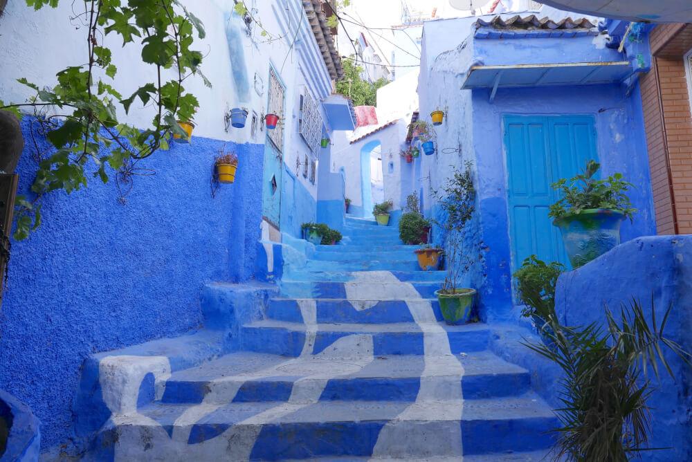 Bucketlist ce r ve bleu chefchaouen au maroc for Reve bleu piscine